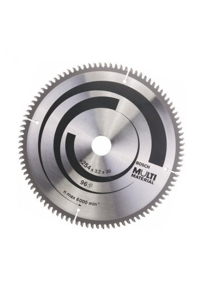 Bosch циркулярный диск 254x30x96 multi eco циркулярные диски