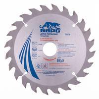 Пильный диск по дереву 210 x 32/30мм, 24 твердосплавных зуба // БАРС