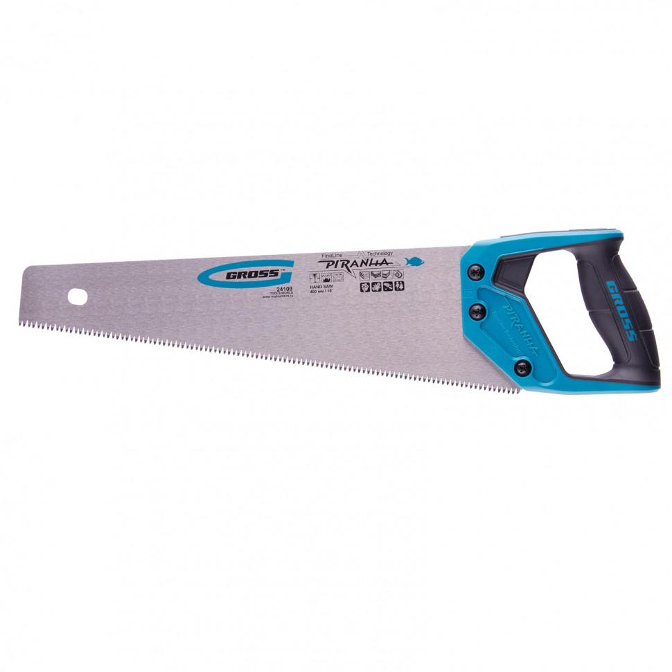 Ножовка по дереву Gross Piranha 24109 400 мм