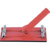 Брусок для шлифования 105 х 210 мм с шарнирным переходником под телескопическую ручку// Matrix
