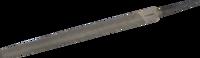 """Напильник ЗУБР """"ПРОФЕССИОНАЛ"""" трехгранный, двухкомпонентная рукоятка, № 1, 150мм"""