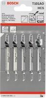 Bosch 5 лобзиковых пилок t101ao, hcs лобзиковые пилки