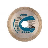 Диск алмазный ф115х22,2мм, сплошной, мокрое резание // GROSS