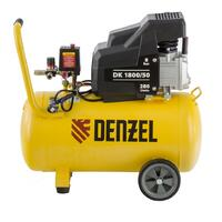 Воздушный компрессор DENZEL DK1800/50,Х-PRO 1,8 кВт, 280л/мин, 50л 58068