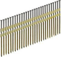 Pegas гвозди реечные 21 градусов винтовые с покрытием уп.4000 2.87x90mm