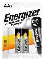 Батарейка пальчиковая Energizer Alkaline Power AA (2 шт.)