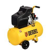 Компрессор воздушный прямой привод DC1700/50, 1,7 кВт, 50 литров, 260 л/мин Denzel 58164