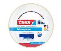 Универсальная малярная лента TESA 48 мм х 50 м белая