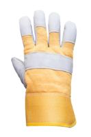 Перчатки спилковые комбинированные// Россия Euromax