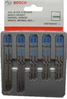 Пилки для лобзика Bosch 2607010147