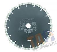 HILTI диск алмазный SP-S 230/22 (6) универсальный (Бетон, Армированный бетон, Кирпичная кладка, Натуральный камень, Цемент) #2117877