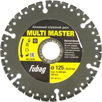 FUBAG Алмазный диск Multi Master_диам 125/22.2