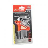 Набор ключей PATRIOT SKТ-9, TORX,T10-T50,CRV, 9 шт