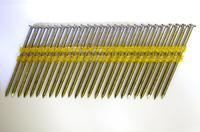 Pegas гвозди реечные 21 градусов винтовые с покрытием уп.4000 2,87x75 mm