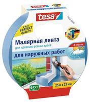 Скотч малярный TESA 25x25 синий