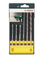 Набор ударных сверл (5-10 мм; SDS-PLUS) 6 шт. Bosch 2607019447