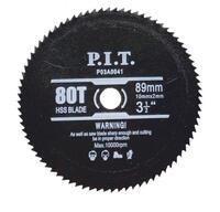 Диск пильный универсальный для пластика, мягких металлов (89х10 мм; 80Т) для PMS89-C P.I.T. P03A0041