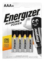 Energizer AAA Alkaline Power 4 шт.