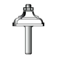 Фреза кромочная фигурная STRONG 8xD32xH14 R4 СТФ-2003