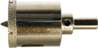 Алмазная коронка по керамограниту 120 мм с центрирующим сверлом STRONG СТК-06600120