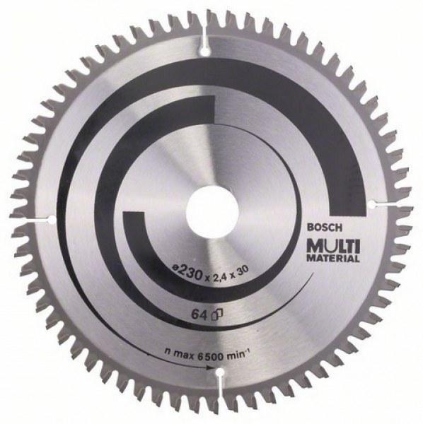 Bosch циркулярный диск 230х30 64 multimeter циркулярные диски
