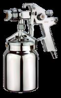 FUBAG Краскораспылитель EXPERT S1000/1.5 HVLP (266л/м_3бар_нижний бачок 1л_1_5мм)