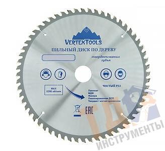 Пильный диск по дереву 250x80Tx32-30 Vertex