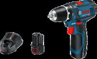 Аккумуляторная дрель-шуруповерт Bosch GSR 12V-15 L-BOXX 0.601.868.109