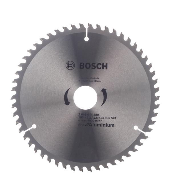 Bosch циркулярный диск 190x30x54 multi eco циркулярные диски