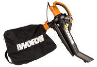 Электрический садовый пылесос Worx WG505E 3 кВт